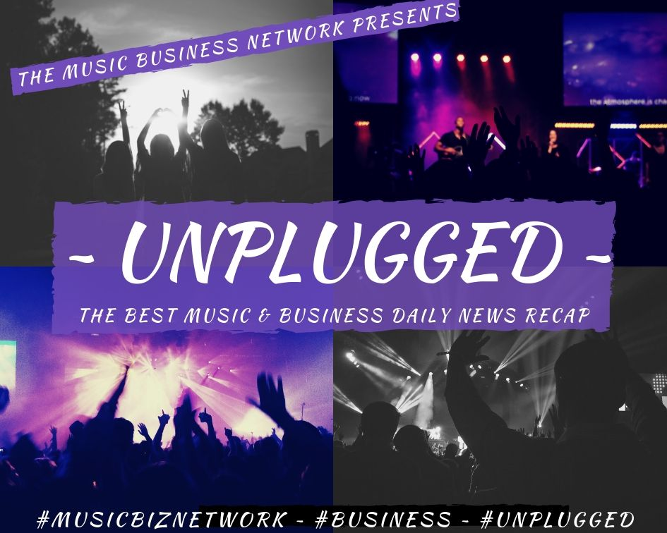 Unplugged_ The Best Music & Business Daily News Recap Logo